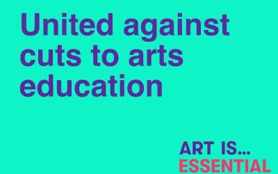 Leading UK visual arts institutions & art schools unite against proposed government cuts to arts education